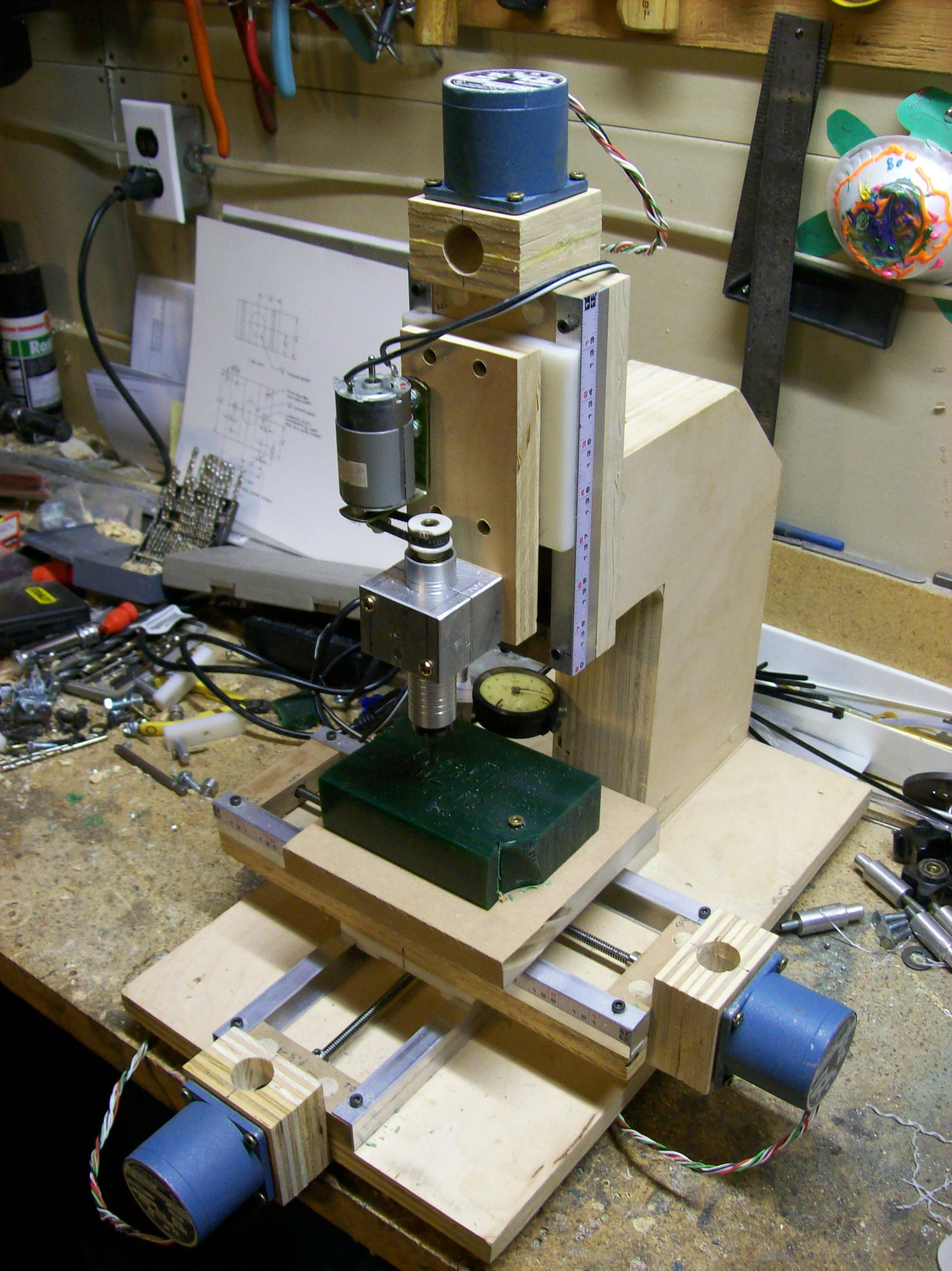 How to make a mini milling machine- manual or CNC!