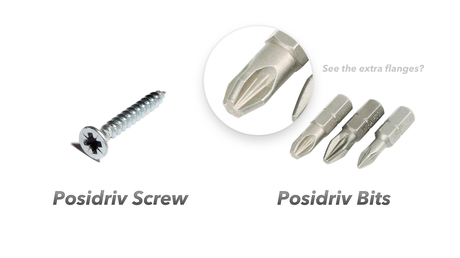 Screw Drives - Some Special Exceptions That Should Get a Mention