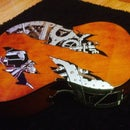 Easily decorate guitars without needing to strip the lacquer.