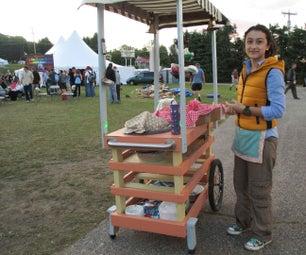 Vendor Push Cart