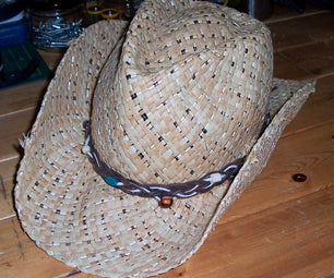 Hatbands From Salvaged Materials.