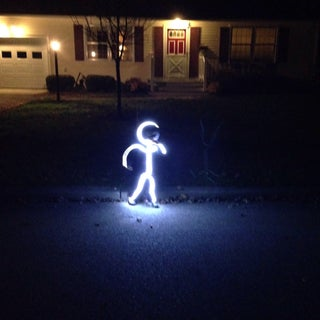 Diy Led Stick Figure Costume 7 Steps With Pictures Instructables