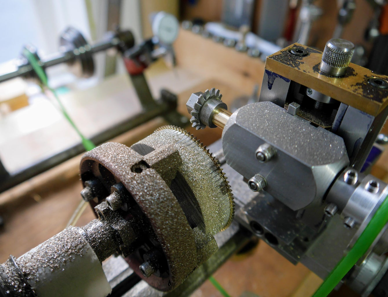 In Use - Wheel and Pinion Cutting
