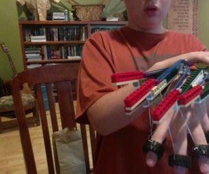 Lego Finger Shadow