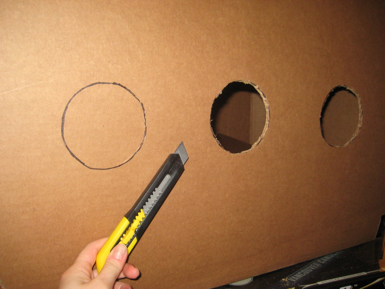Create Cannon Holes