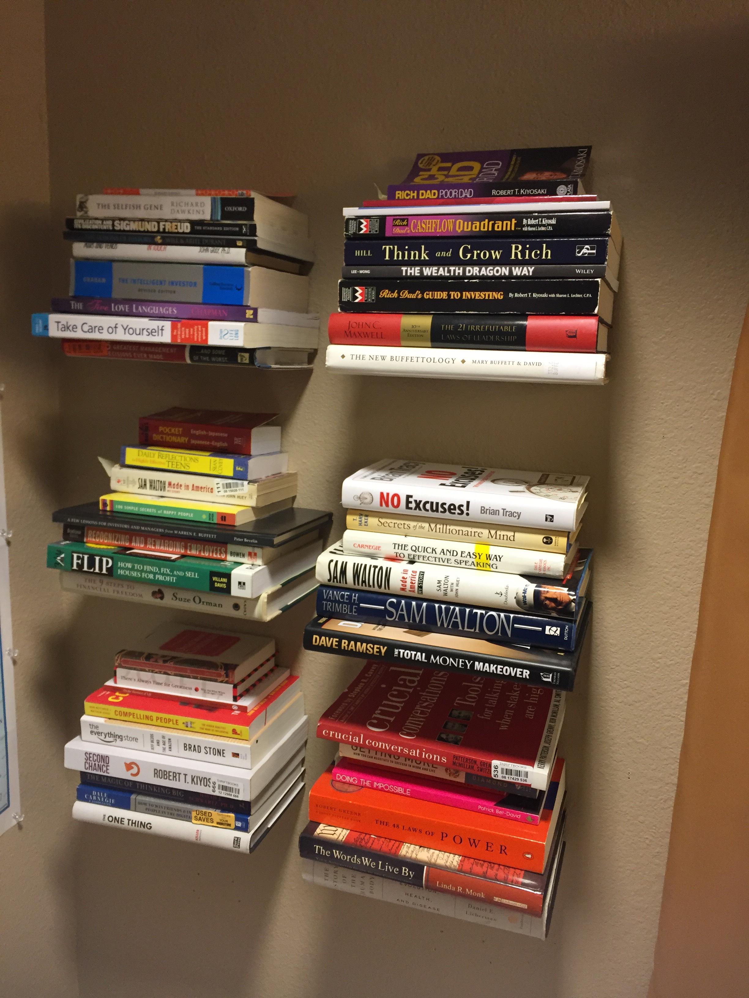 Bookshelves For Under $5