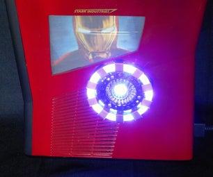 Iron Man DIY XBOX 360 Case Mod