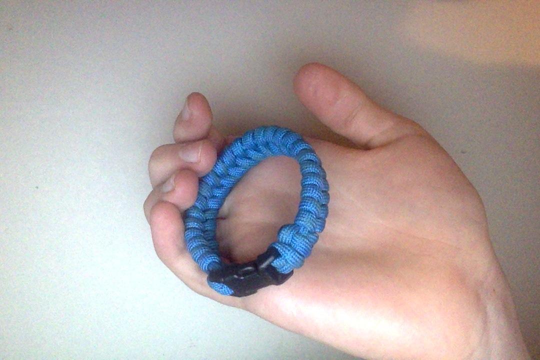 Herring Bone (Fish Tail) Paracord Bracelet