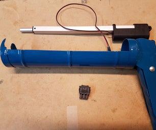 DIY Cordless Electric Caulking Gun