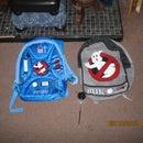 custom made ghostbusters backpacks