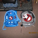 custom made ghostbusters backpacks