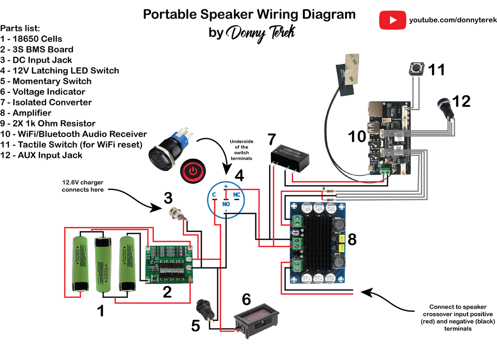Speaker Crossover Wiring Diagram from content.instructables.com