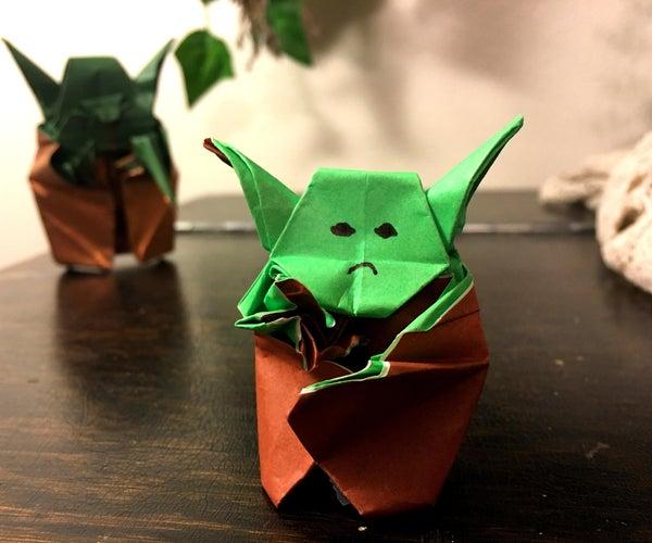 Origami Baby Yoda