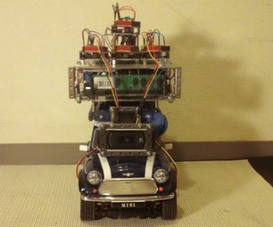 Car No. 06 Programmed Automatic Driving Car