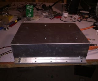 200kW AC Motor Controller for Electric Car