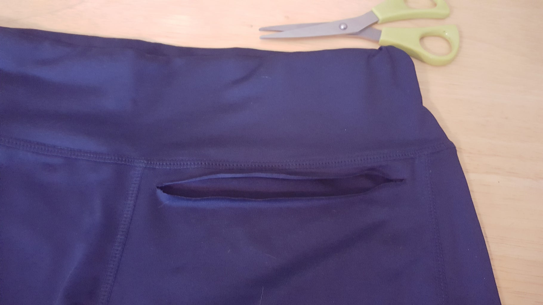 Measure and Cut the Shorts
