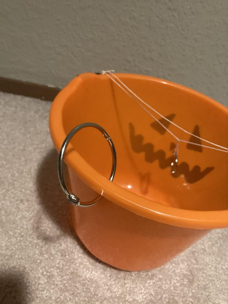 Prepare the Candy Bucket