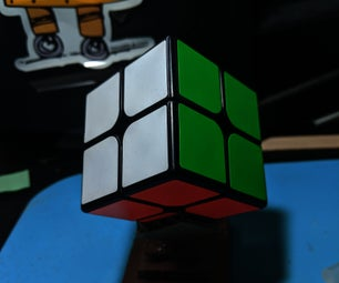 How to Make a Rubik`s Cube Stand Out of Cardboard
