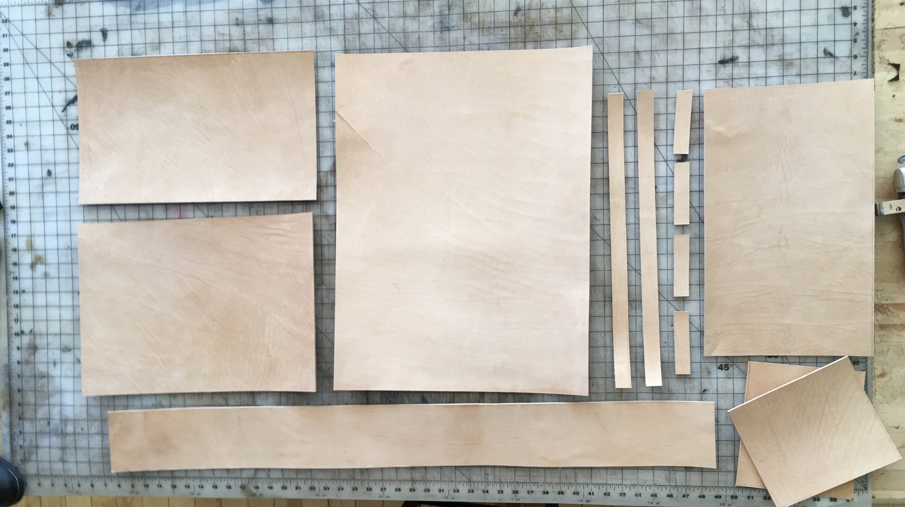 Cut Out Each Individual Piece.