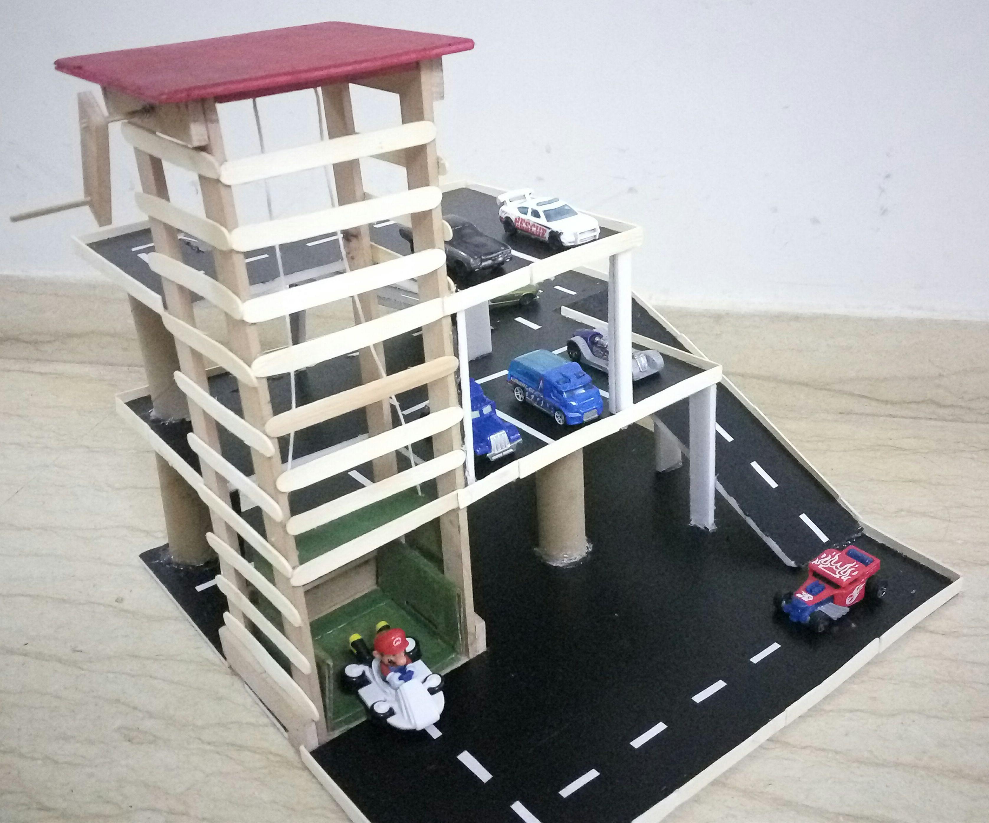 Multi Level Car Parking for Kids