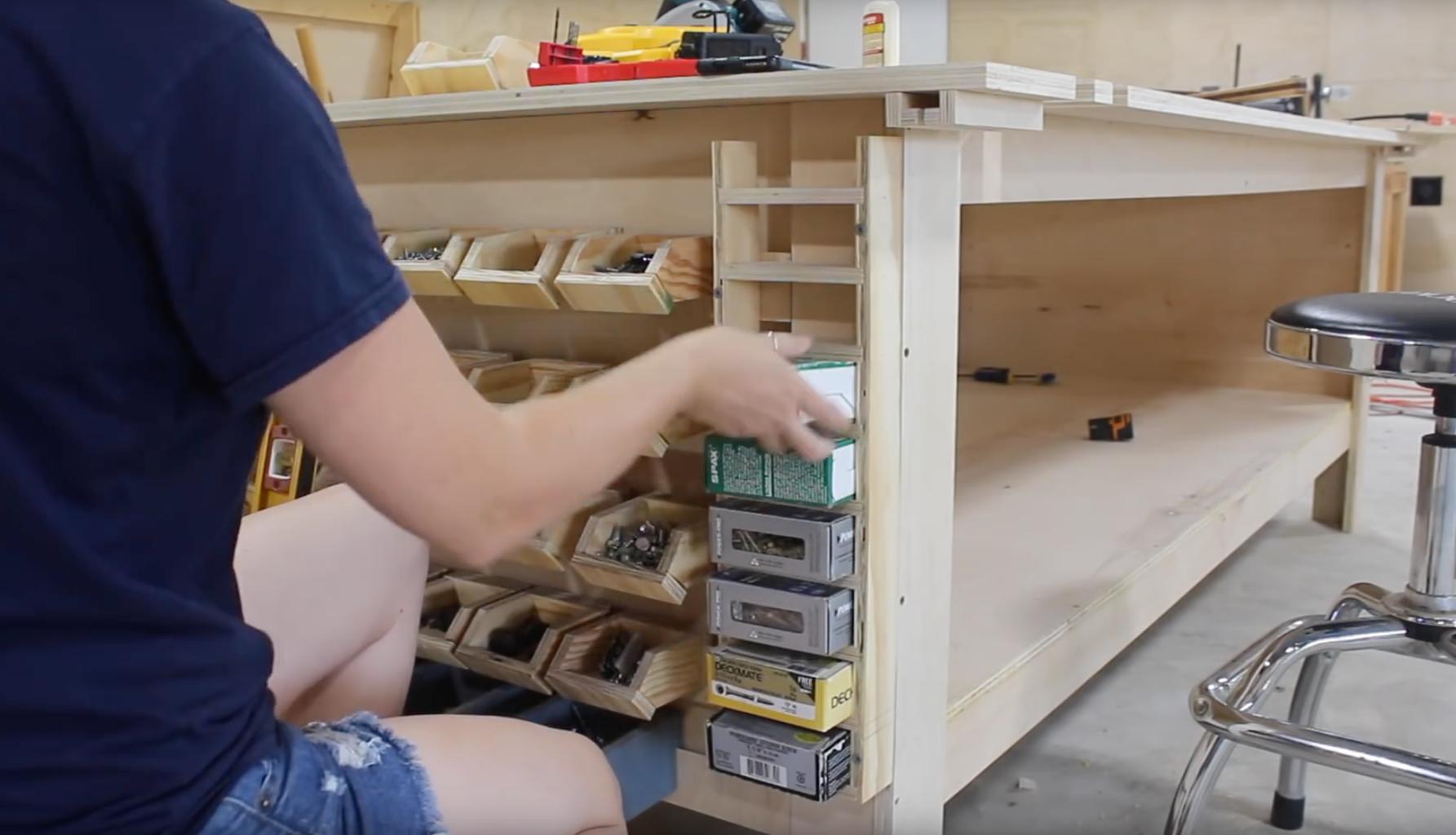 Adding Screw Box Storage
