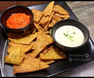 Easy Homemade Nacho Chips