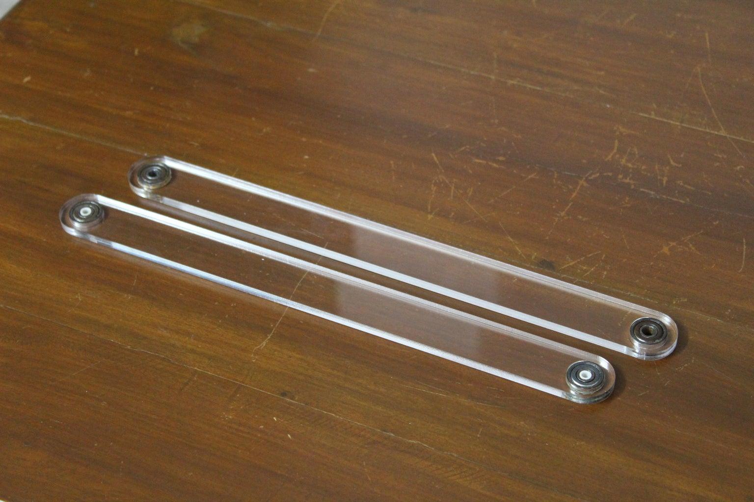 Assembling the Pendulum Arms