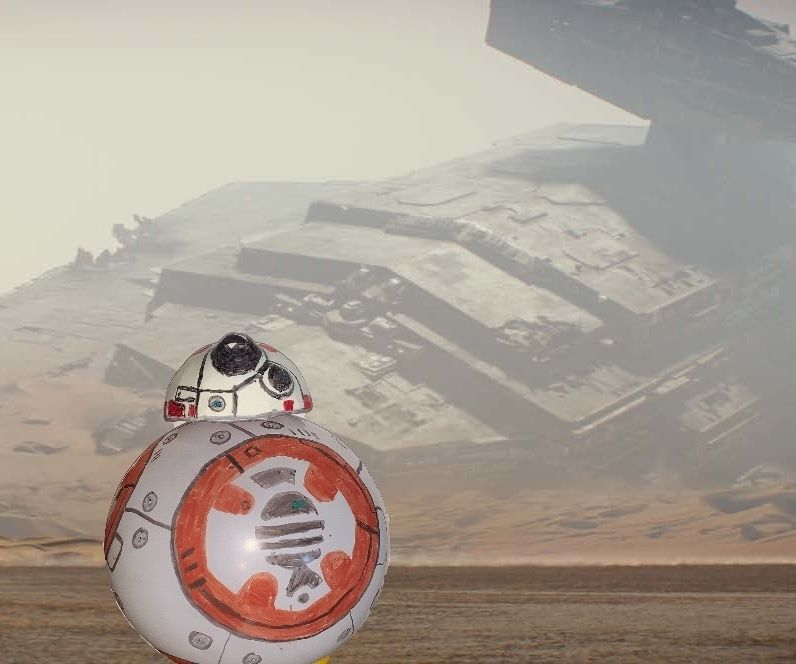 BB8 Star Wars Hover Disc