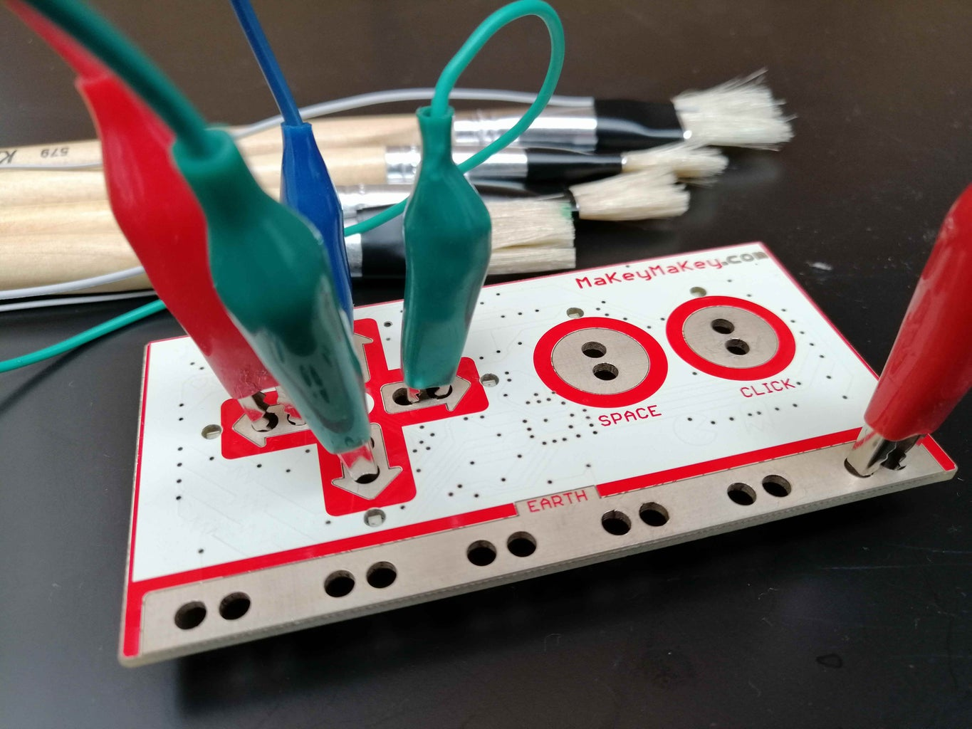 Connections to the Makey Makey
