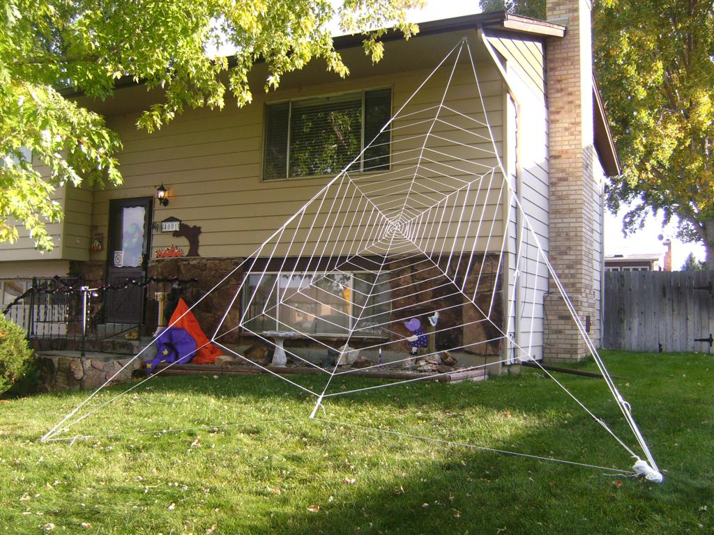 Gigantic Halloween Spider Web