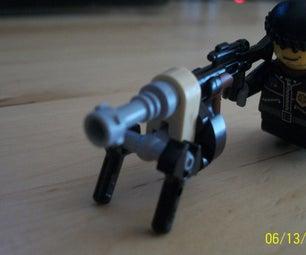 Lego Realistic Heavy MG!