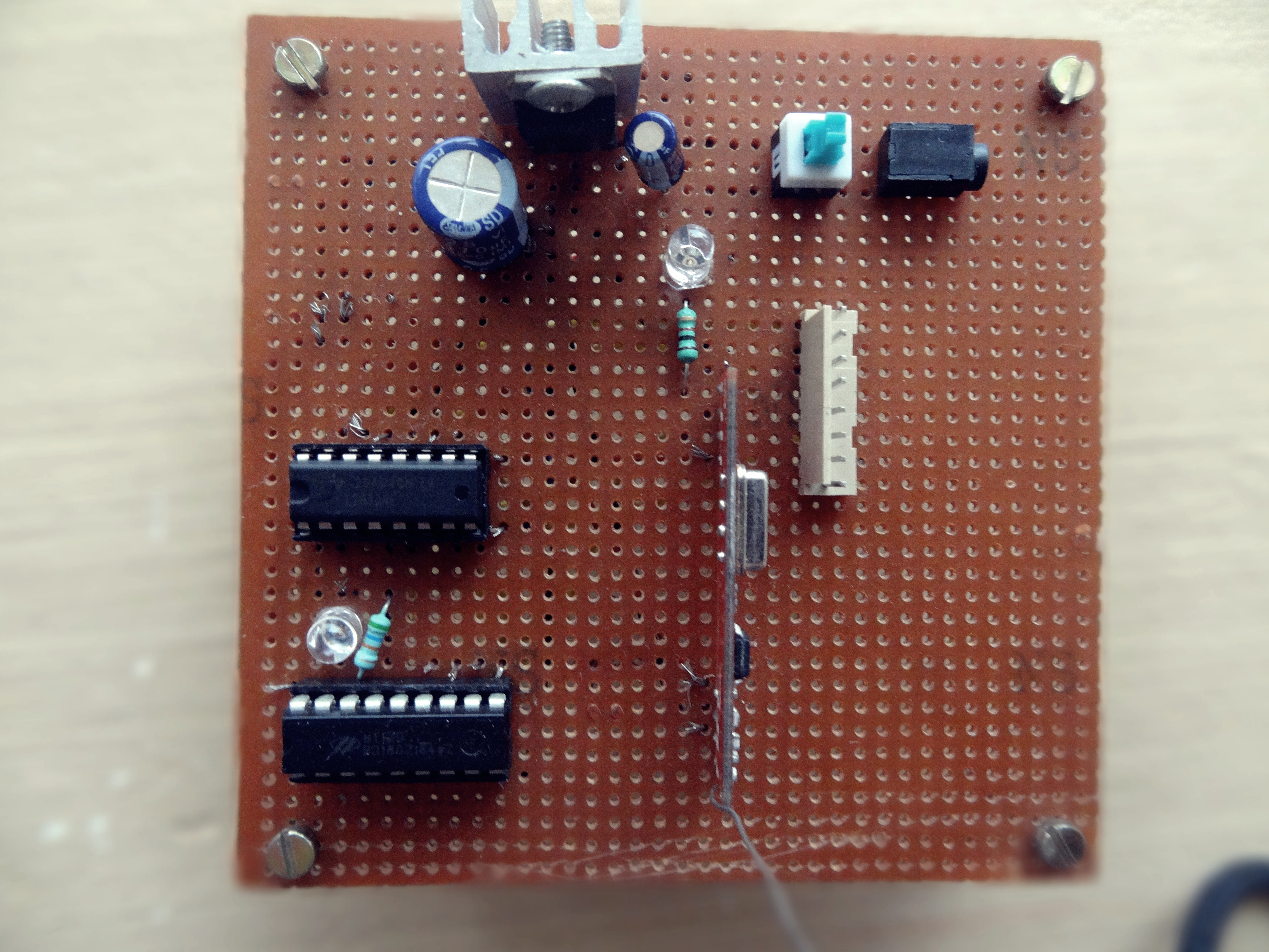Picture of Making the Receiver Circuit