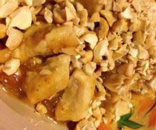 Iron Chef Orange Cashew Chicken