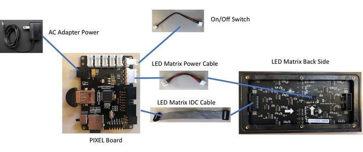 Switching Firmwares & Testing the LED Matrix