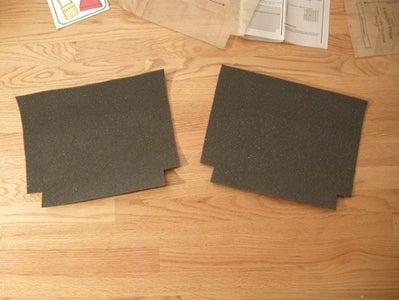Cut Out the Foam Interfacing