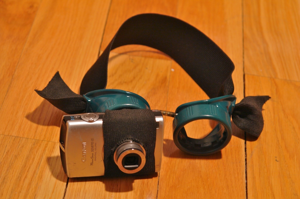 Headmount for compact cameras
