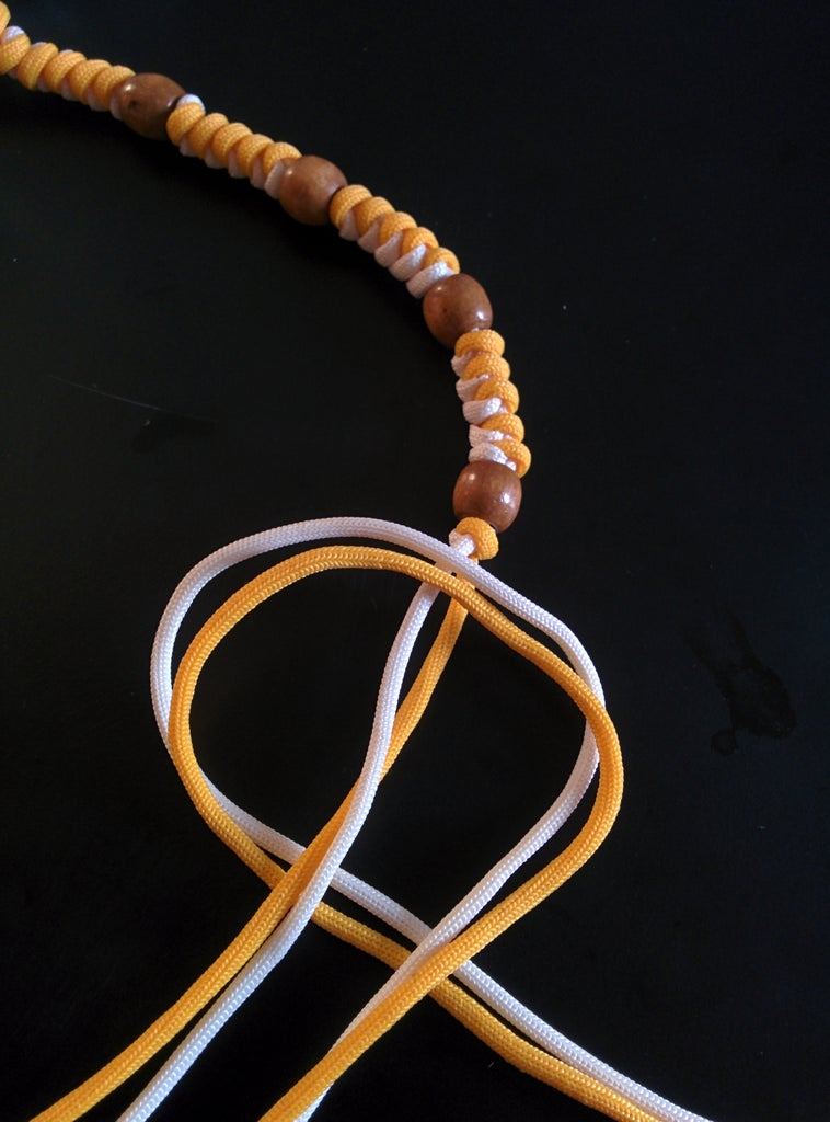 Making the Necklace Cords Adjustbale for Length