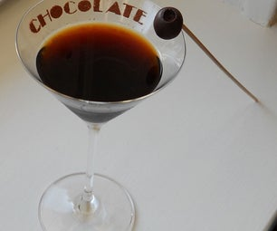 """Chocotini With """"Olive"""" Truffle"""