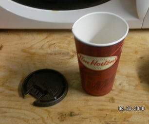 Breakfast: Cooking With Paper Coffee Cups