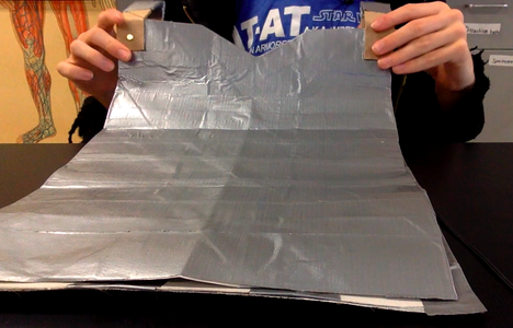Begin With the Previous Instructable, 'Armor From Toilet Paper Rolls'.