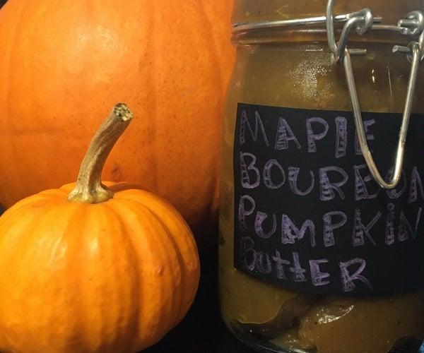 Boozy Maple Pumpkin Butter