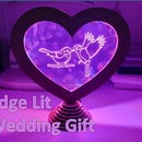 Edge Lit Wedding Gift