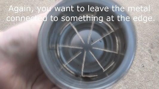 Finish Cutting Your Fan Blades