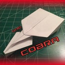 How to Make the Cobra Paper Airplane