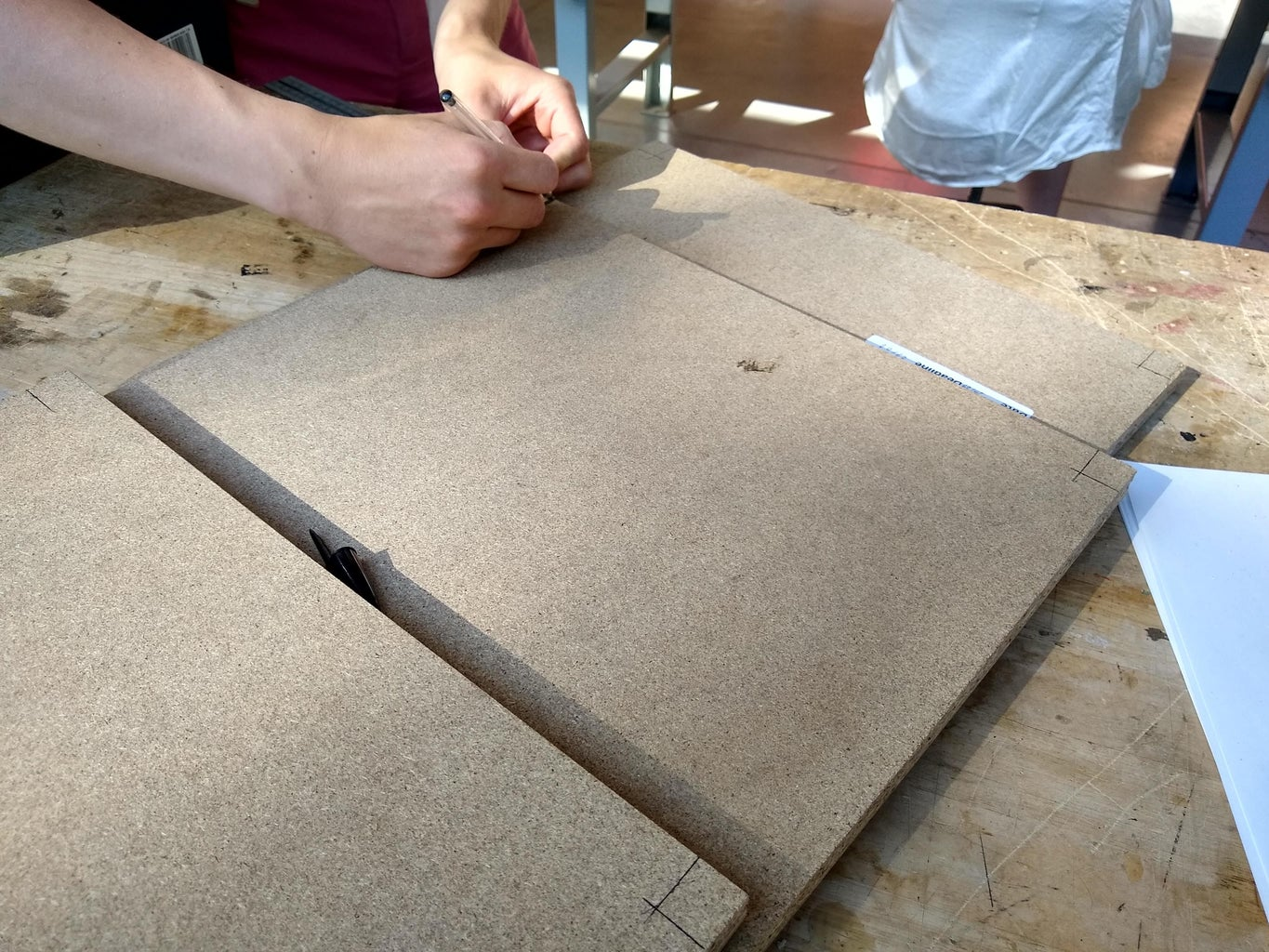 Step A1: Cutting the Side Panels