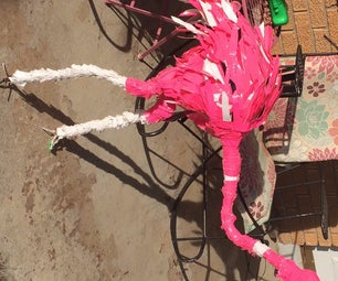 Diy Duck Tape Animal-Flamingo by Sophie Gaither