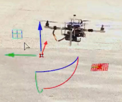 Control a Pixhawk drone using ROS and Grasshopper