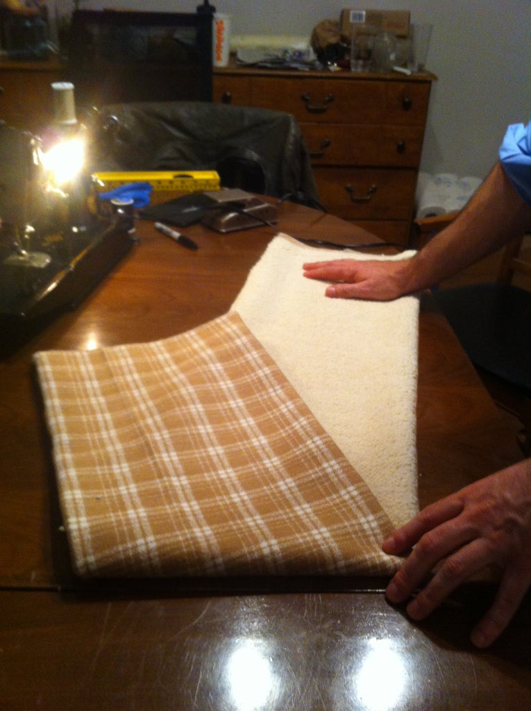 Sewing Machine + Materials