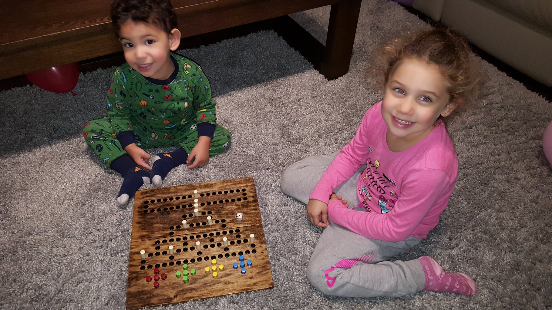 The Next Generation of Malefiz Players!