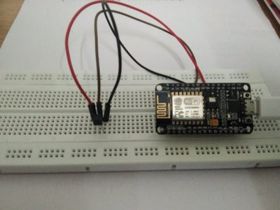 Digital Thermometer Using NodeMCU and LM35